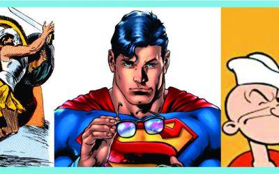 Achilles, Superman, & Popeye